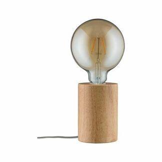 Lampa stołowa Neordic Talin - drewniana