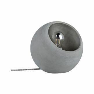 Lampa stołowa Neordic Ingram - betonowa