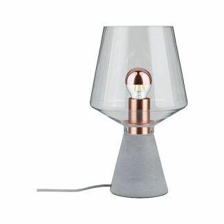 Lampa stołowa Neordic Yorik - beton, szkło