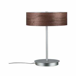 Lampa stołowa Neordic Liska - drewniany klosz
