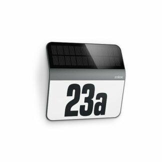Kinkiet XSolar LH-N - solarny, numer domu, czujnik zmierzchu