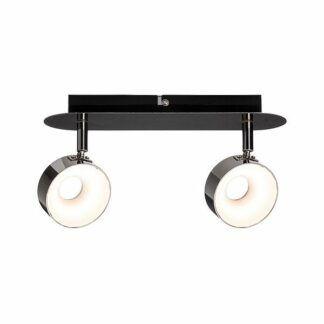 Lampa sufitowa Funnel - dwa reflektory, ściemniana