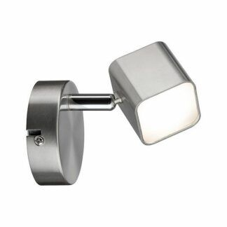 Ledowy kinkiet Cubic - 1x4W LED, srebrny