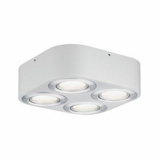Lampa sufitowa Argun - LED, biały/chrom