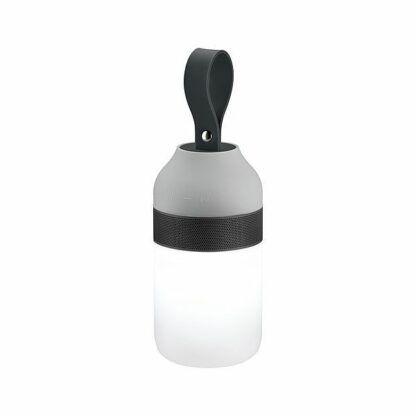 Mobilna lampka Clutch Sound - IP44, 3000K, głośnik