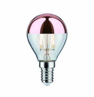 Żarówka Mirror - LED, 250lm, E14, 2700K, miedziana