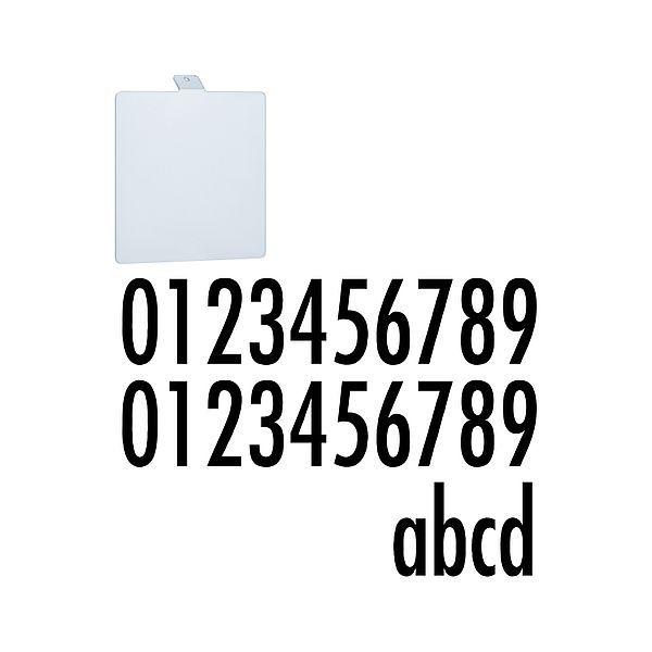 Numer domu - akcesoria do lamp Soley, IP44, biały
