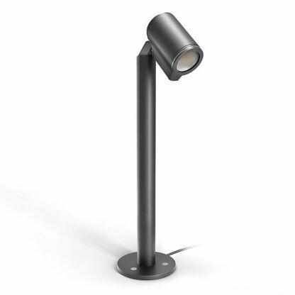 nowoczesna lampa ogrodowa stojący słupek