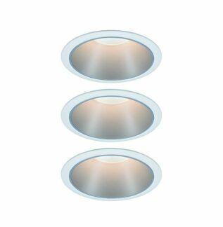 Oczko sufitowe Cole Coin - 3szt, zestaw, LED, IP44