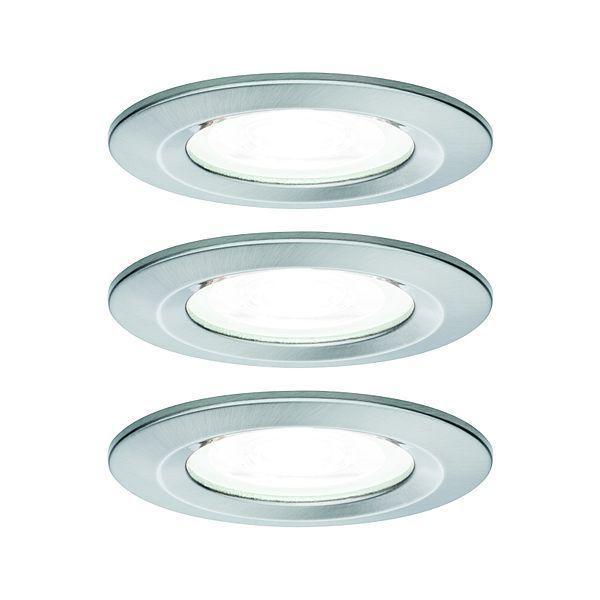 srebrne oczko sufitowe okrągłe
