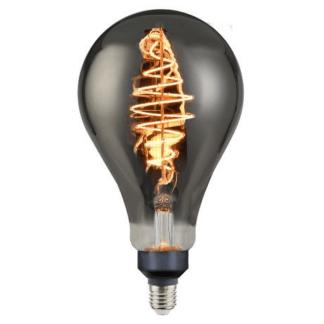 Duża żarówka LED - E27, szara