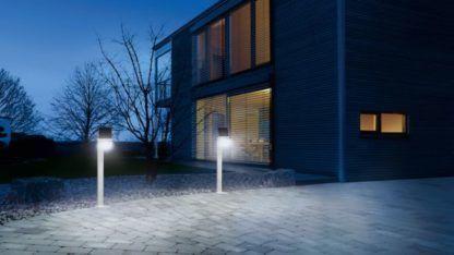 solarne oświetlenie podjazdu aranżacja