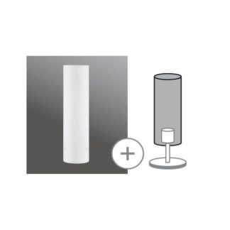 Klosz Glass Livo White - mleczne szkło, URail 2Easy