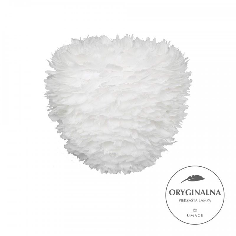Lampa wisząca Eos Evia Medium  - 40cm, biała