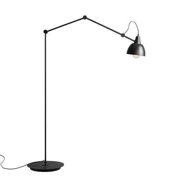 lampa podłogowa metalowa regulowana
