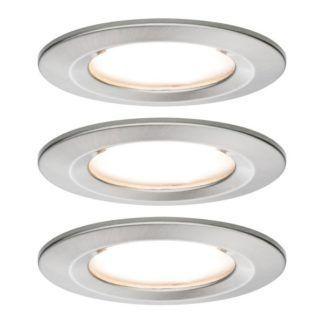 Zestaw opraw wpuszczanych Premium Coin Slim - LED, IP44, 3 szt