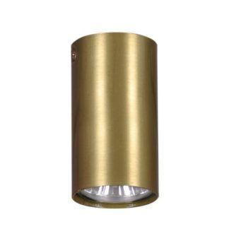 Złoty spot sufitowy Berga S - tuba