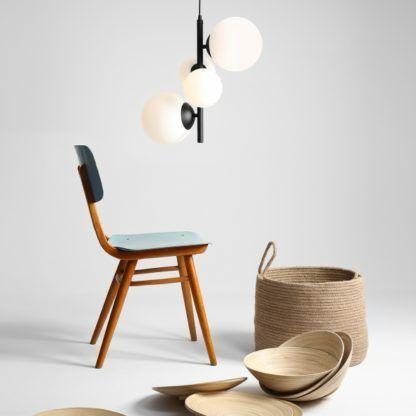 nowoczesna lampa wisząca pionowa
