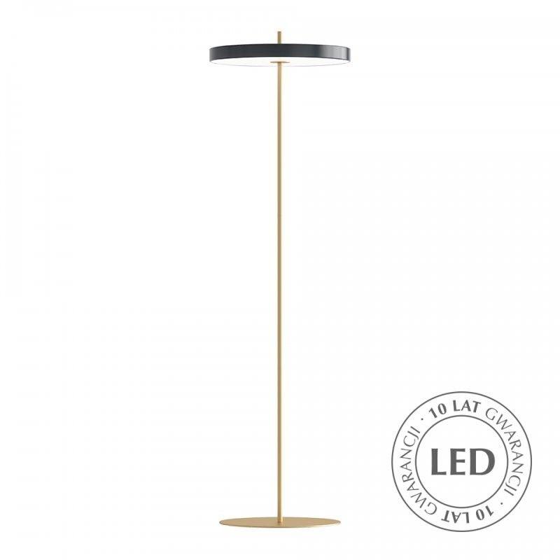 Lampa podłogowa Asteria - grafitowa, LED
