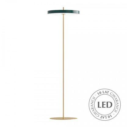 Lampa podłogowa Asteria - LED, ciemna zieleń