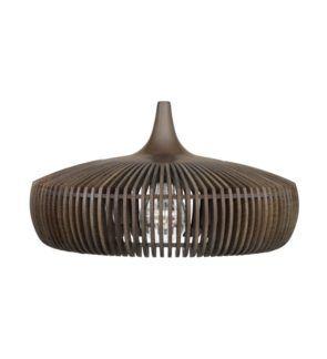 Lampa wisząca Clava Dine Wood  - ciemny brąz