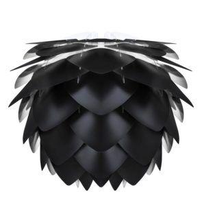 Lampa wisząca Silvia - czarna szyszka