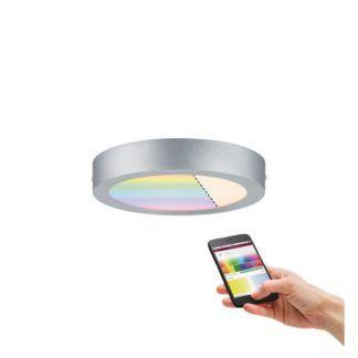 Okrągły plafon Cesena - LED, chrom, SmartHome