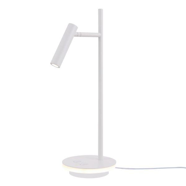 Nowoczesna lampa biurkowa Estudo - LED, regulowany klosz