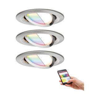 Oczko sufitowe Nova Plus - LED, RGBW, Smart Home, zestaw 3 szt.