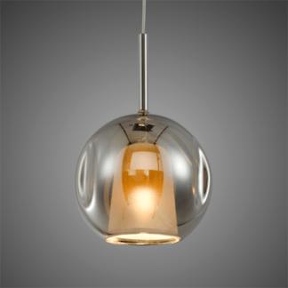 Lampa wisząca szklana Euforia No. 1 chrom 25cm