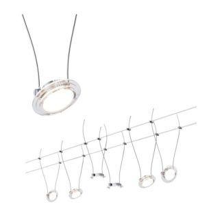 System linkowy Twist Coin - 6x4W, LED, zestaw