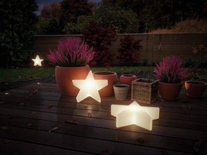 świąteczne oświetlenie ogrodu