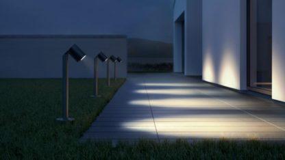 zewnętrzne oświetlenie podjazd nowoczesny