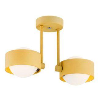 Lampa sufitowa Massimo - LED, szklane klosze, IP44