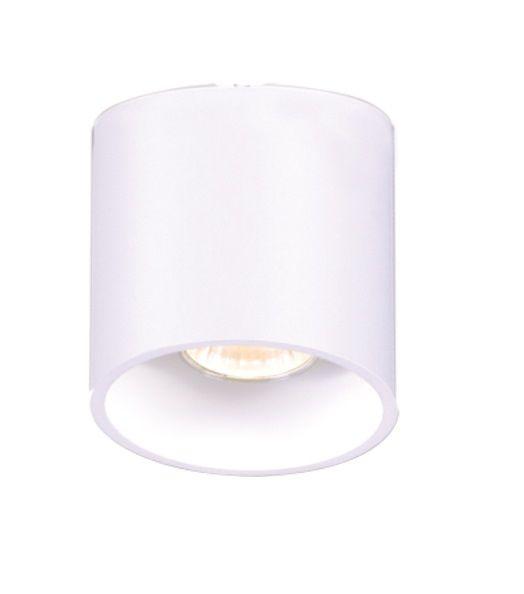 Lampa sufitowa Alu - 10cm, biała tuba