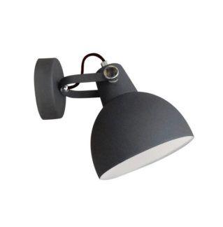 Regulowany kinkiet Cande - czarny mat, reflektor