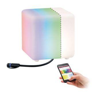 Lampa ogrodowa Cube - Plug&Shine, IP65, 24V, SmartHome, Zigbee