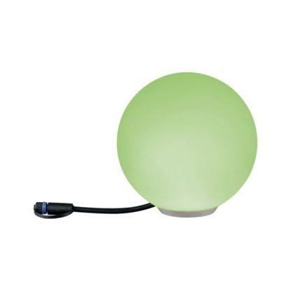 lampa ogrodowa kula kolory RGB