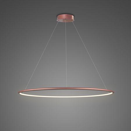 Lampa wisząca Shape - LED, 3000K, 80cm, różowe złoto, IP44