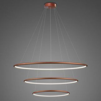 Lampa wisząca Shape - LED, 4000K, miedziana, IP44