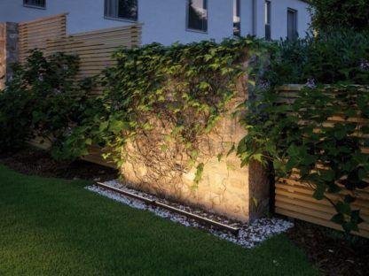 naziemna listwa led oświetlenie ogrodu