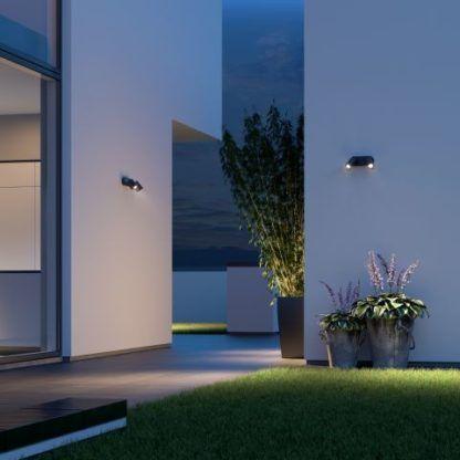nowoczesne oświetlenie elewacji