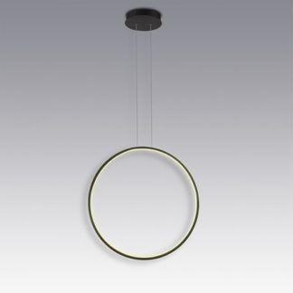 Lampa wisząca Shape No. 1, 60cm, 3000K, czarna