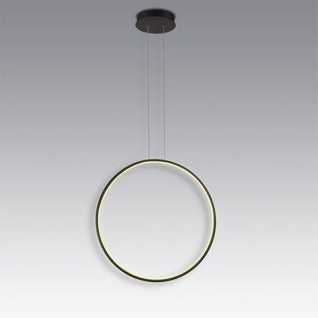 pionowy ring led lampa wisząca