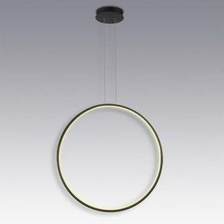 Lampa wisząca Shape No. 1, 80cm, 3000K, czarna