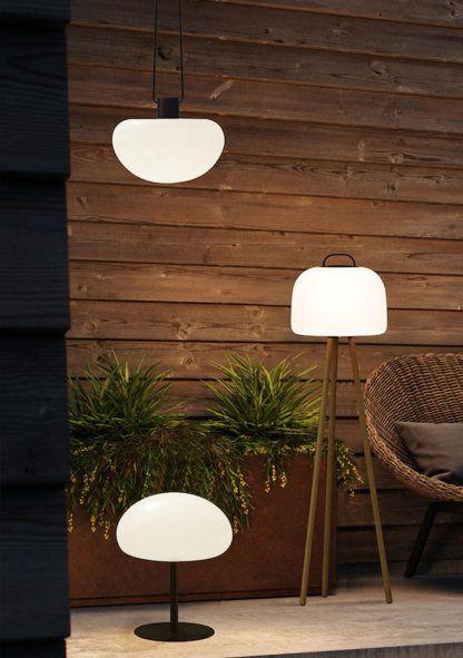 lampa na taras bez kabla