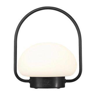 Ogrodowa lampa przenośna Sponge To Go - mleczny klosz -  ładowana przez USB