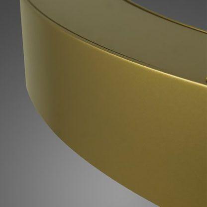 złota lampa wisząca led
