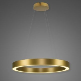 Lampa wisząca Billions No.4 - 80cm, 3000K, złota