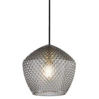 Lampa wisząca Orbiform - szklany klosz